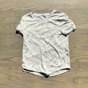 Lululemon White short sleeved shirt